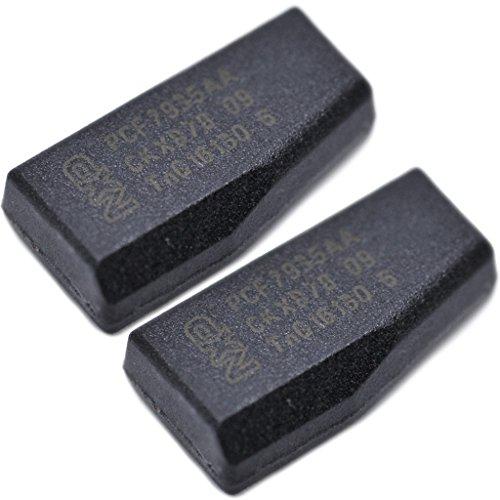 Auto Schlüssel Funk Fernbedienung 2X ID40 Transponder unprogrammiert für OPEL/Vauxhall Wegfahrsperre PCF7935
