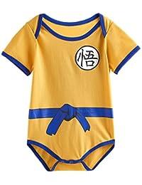 Vêtement Bébé Super Hero DBZ| Body Pyjama enfant | Déguisement Goku | Costume original et rigolo | 100% Coton