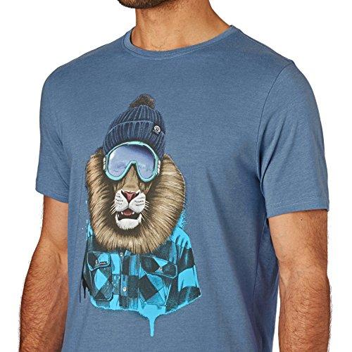 Animal T-Shirts - Animal Skoar T-Shirt - Cadet Navy Marl Blue