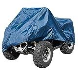 Motorrad ATV Quad Abdeckung Wasserdicht UV Schutz Garage Roller Blau XL
