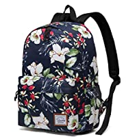 School Backpack for Girls, VASCHY Lightweight Women Ladies Backpack Casual Daypack Fashion School Bookbag Travel Rucksack with 14 Inch Laptop Sleeve