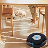 #7: Generic 2017 New Home Auto Cleaner Robot Microfiber Smart Robotic Mop Dust Cleaner Cleaning-black In Stock Drop Shipping