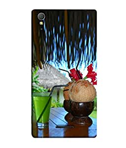 PrintVisa Relaxation 3D Hard Polycarbonate Designer Back Case Cover for Sony Xperia T3