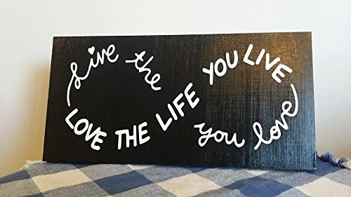 Claude16Poe Cartel de Madera Live The Life You Love The Life You Live Infinity