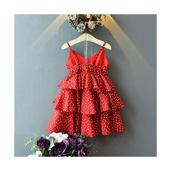 JYC 2019 Baby Girl Dresses | Toddler Kids Clothes Sleeveless Love Printing Party Princess Dress (Red120/13) JYC - Baby Clothes Recommended Age:2-3 Years Label Size:7/90 Bust:52cm/20.47'' Length:53cm/20.87'' Height:85-90cm Recommended Age:3-4 Years Label Size:9/100 Bust:54cm/21.26'' Length:55cm/21.65'' Height:95-100cm Recommended Age:4-5 Years Label Size:11/110 Bust:56cm/22.05'' Length:58cm/22.83'' Height:105-110cm 3