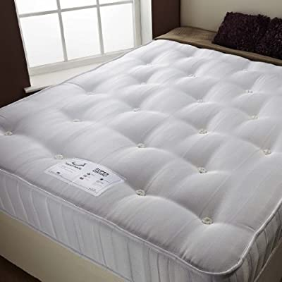 Happy Beds Super Ortho Firm Orthopaedic Spring Mattress Bedroom Furniture Sleep Relax - cheap UK bed store.