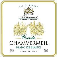 Cuvée Chamvermeil Blanc De Blancs 11,5° (Sec) - Vin De France - Bib De 10 Litres