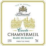 Cuvée Chamvermeil Blanc De Blancs 11,5°(Sec) - Vin De France - Cubitainer De 33 Litres