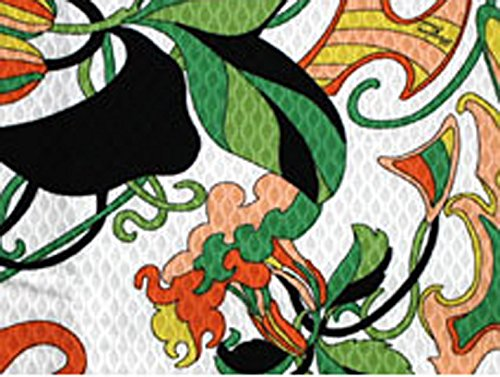 designer-tischdecke-im-vintagelook-135cm-x-135cm-100-baumwolle-parolari-emilio-pucci-in-grn-orange