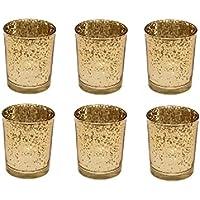 Schöner Teelichthalter Teelichtglas Windlicht 10x10 cm verschiedene Farben