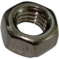 AERZETIX: 100x Tuercas hexagonales M5 8mm H4mm DIN934 acero inoxidable A2 C19160