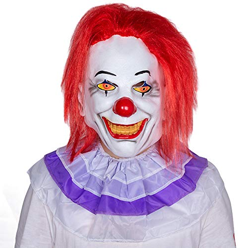 WETERS Halloween Horrific Demon Adult Scary Clown Cosplay -