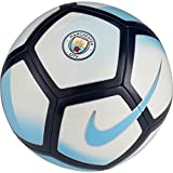 Nike Unisex Manchester City Pitch Pallone da Calcio, Bianco/Campo Blu/Midnight Navy/(Field BL, 5