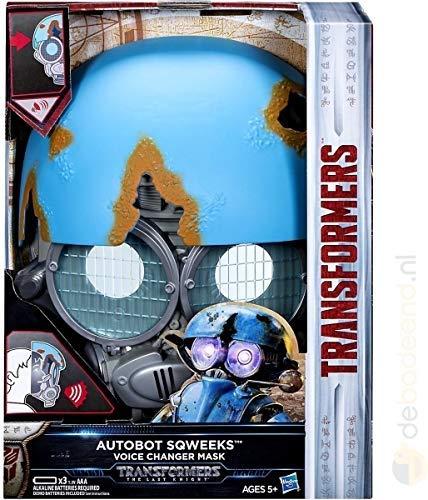 Transformers Spielzeug Figuren The Last Knight Autobot Sqweeks Maske Mit Stimmenverzerrer Bumblebee (Einfach Transformer Kostüm)