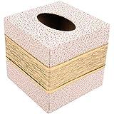Porta-rollo Porta-tejido Caja de tejido de cuero