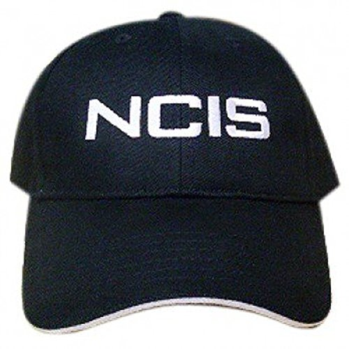 51RefaZD6UL. SS500  - NCIS Special Agents Logo Black Cap Adjustable Hat