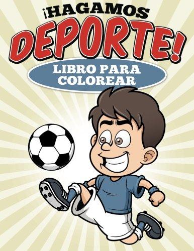 Libro para colorear  Hagamos deporte! por Uncle G
