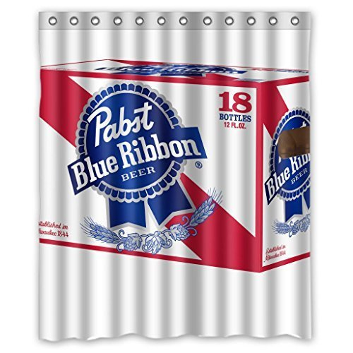 pabst-blue-ribbon-durable-fabric-shower-curtain-measure-60wx72h-by-shower-curtain