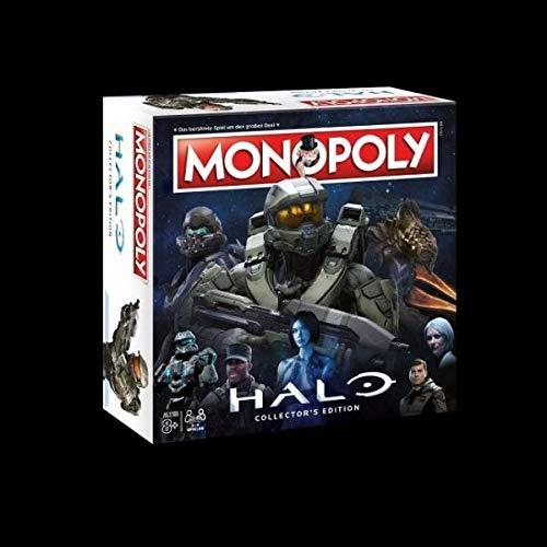Monopoly Halo - der Ego-Shooter trifft auf das bekannte und beliebte Brettspiel! Gesellschaftsspiel, Familienspiel, Strategiespiel (Playstation 2-halo)