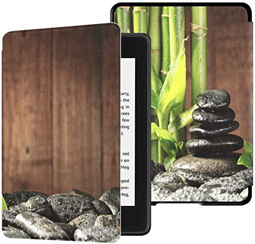 Kindle Paperwhite Fundas niñas Bamboo Grove Black