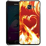 Samsung Galaxy A3 (2016) Housse Étui Protection Coque Feu Amour Amour