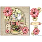 New Home Card Topper Cottage by Marijke Kok