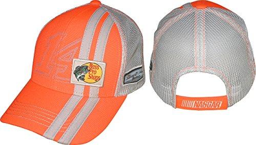 NASCAR Erwachsene Treiber-Sponsor Verstellbare Streifen Mesh Hat cap-tony Stewart #...