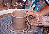 Kreatives Basteln 2017. Impressionen von Mensch und Material (Wandkalender 2017 DIN A4 quer): 12 farbenfrohe Bilder von Kunsthandwerkern und ihren ... (Monatskalender, 14 Seiten) (CALVENDO Hobbys)