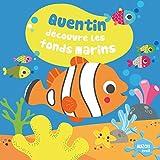 QUENTIN DECOUVRE LES FONDS MARINS - NOUVELLE EDITION (Collection livre de bain)