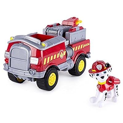 PAW PATROL 6037954Marshall 's Forest Vehículo con Taberna por Spin Master Toys UK Ltd