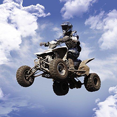 Apple iPhone 4 Housse Outdoor Étui militaire Coque Quad Motocross Sport Étui en cuir bleu marine