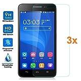 [Lot de 3] Verre Trempé pour Huawei G620S, Protecteur d'écran qualité supérieure,...