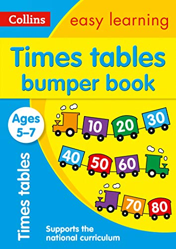 Times Tables Bumper Book Ages 5-7: bursting with motivating and fun times tables activities (Collins Easy Learning KS1)