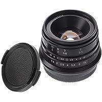 Hersmay 25mm F/1.8 Manueller Fokus MF Objektiv Für Fujifilm FX Halterung X-A1 X-A10 X-A2 X-A3 A-AT X-M1 XM2 X-T1 X-T10 X-T2 X-T20 X-Pro1 X-Pro2 X-E1 X-E2 E-E2s