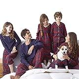 SESY Familie Zusammenpassen Weihnachten Schlafanzug Pyjama Set Mama Papa Kinder Sleepwear Nachtwäsche