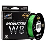 Best Braided Lines - SeaKnight Monster W8 Braided Lines 8 Strands Weaves Review