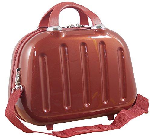 1 Beauty Case Nepal Farbe Rot Carbon Polycarbonat Hartschale Reisekoffer Trolley Case Fa. Bowatex