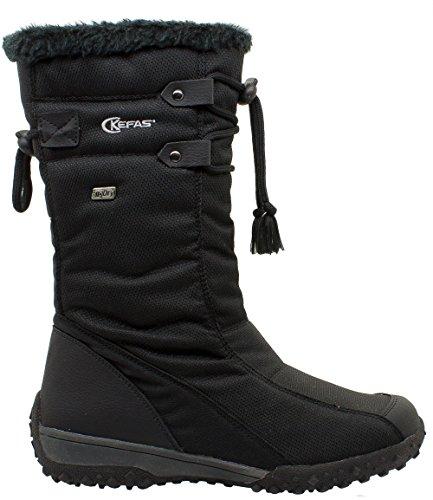 Kefas - Feliksana 2925 - Bottes de neige Femme Noir