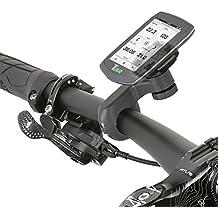 Wicked Chili Fahrrad/Motorrad Design Halterung für Teasi one3 eXtend/one3/one2/one/Core/Pro Pulse und SMAR.T Power (Sicherungsschutz/QuickFix-System/Made in Germany) schwarz