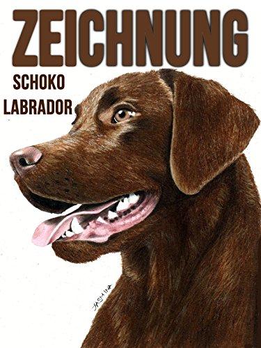 Clip: Zeichnung Schoko Labrador