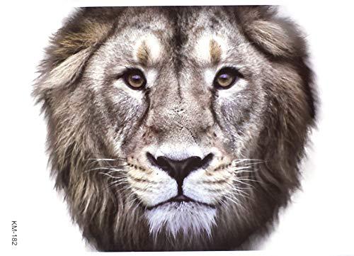 Loewentat tatuaggio leone braccio tattoo 3d effetto km182