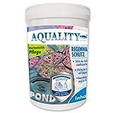 AQUALITY Regenwasser Schutz | Wasseraufbereitung | neutralisiert & schützt den Gartenteich, Inhalt:1.000 g