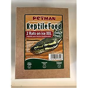 2 x Petman Reptile Food 2 Ratten XXL