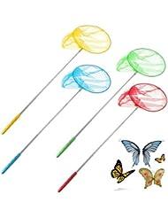 Apollo Sporting Juguete niños redes de pesca bug herramientas de jardín infantil de insectos cazamariposas extensible al aire libre