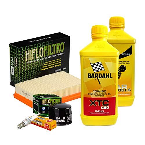 Tagliando Bardahl XTC 10W50 filtro olio aria candele cambio R 1200 GS RS RT