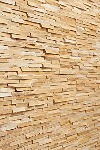 Wooden Wall Panel Regina 156, Birch Wood with