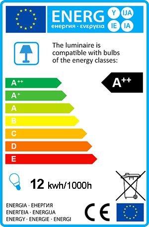 QAZQA Modern Stehleuchte / Stehlampe / Standleuchte / Lampe / Leuchte Line-up LED Chrom Dimmer / Dimmbar / Innenbeleuchtung / Wohnzimmer / Schlafzimmer / Küche Kunststoff / Metall / Rund inklusive LED - 2