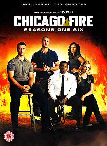 Chicago Fire: Season 1-6 Set (36 Dvd) [Edizione: Regno Unito] [Italia]
