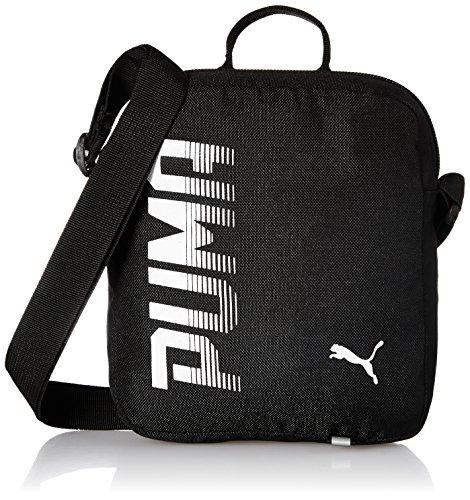 Puma 74717 01, borsa unisex-adulto, nero, taglia unica