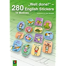 """Well done!"" – 280 English Stickers"
